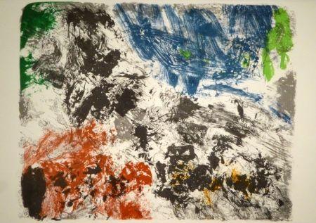 Lithograph Jorn - Die Geschichte vom teuren Brot / Sagan af braudinu dýra