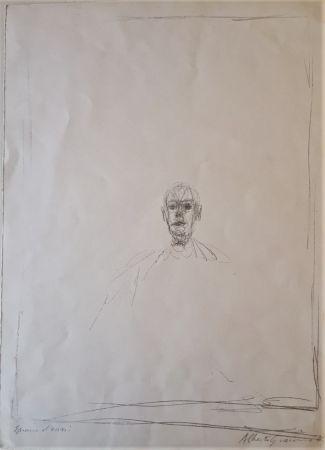 Lithograph Giacometti - Diego