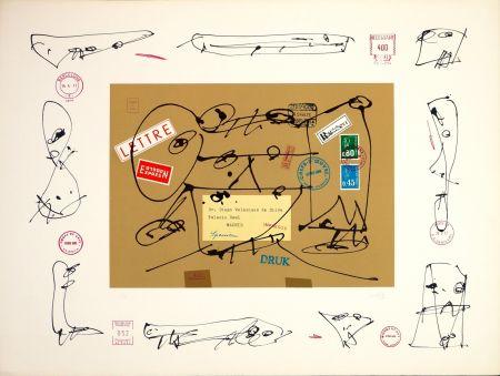 Lithograph Saura - Diego Velazquez de Silva