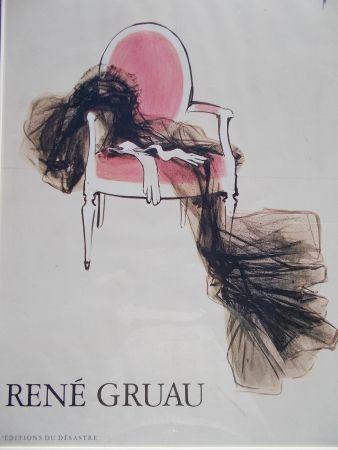 Poster Gruau - Diorama, Paris 1955