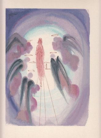 Etching Dali -  Divina Comedia. Xilografia Original Años 60.