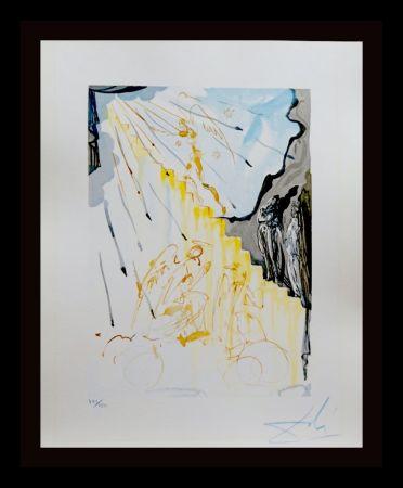 Woodcut Dali - Divine Comedy Heaven Canto 21