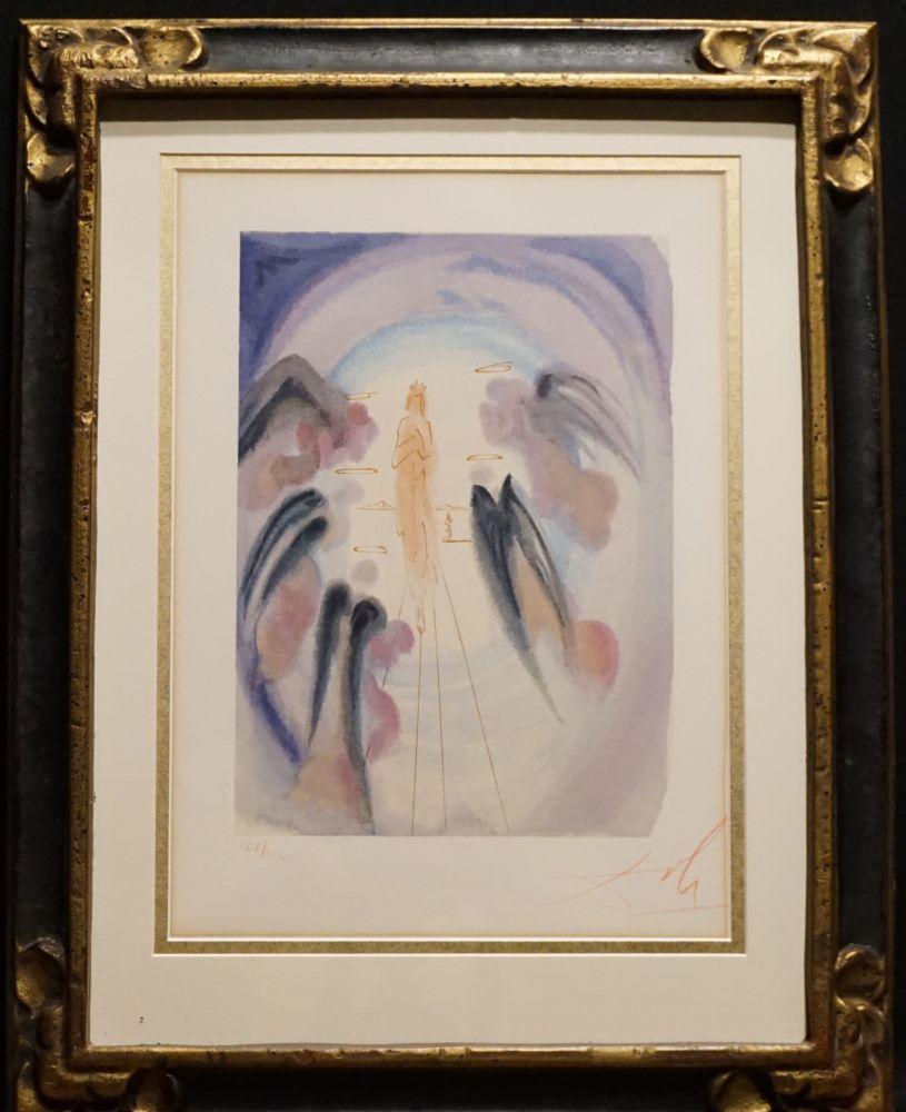 Woodcut Dali - Divine Comedy Heaven Canto 25