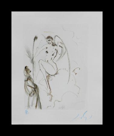 Woodcut Dali - Divine Comedy Heaven Canto 28