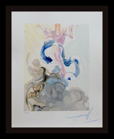 Woodcut Dali - Divine Comedy Heaven Canto 3