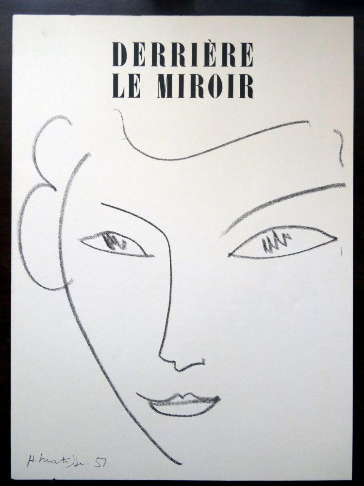 Illustrated Book Matisse - DLM - Derrière le miroir nº 46 - 47