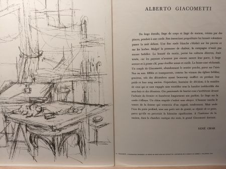 Illustrated Book Giacometti - DLM 112