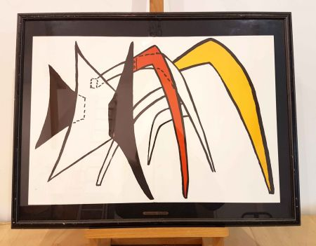 Lithograph Calder - DLM 141-2