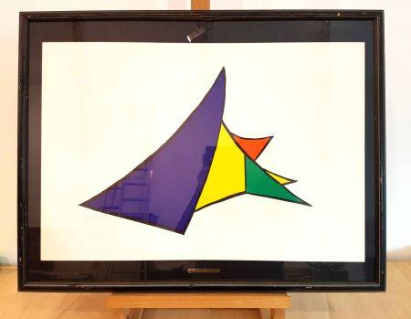 Lithograph Calder - DLM 141-4