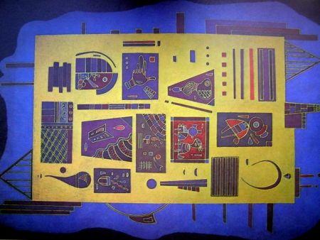 Lithograph Kandinsky - DLM 179