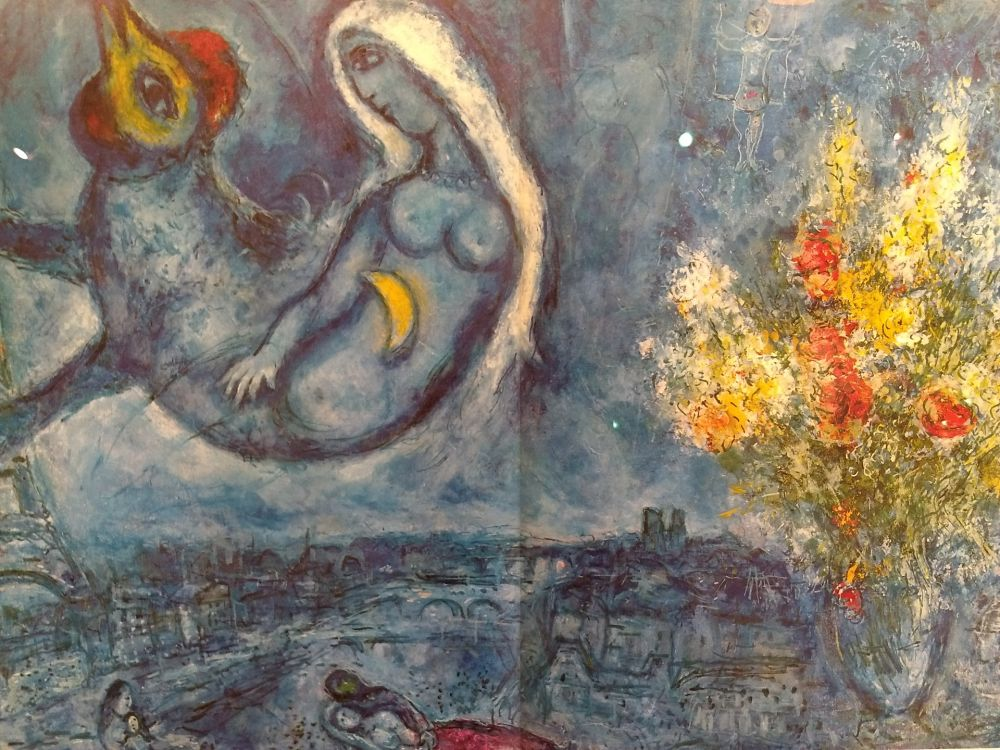 Illustrated Book Chagall - DLM 182