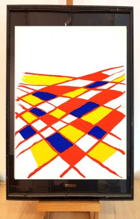Lithograph Calder - DLM 190-2