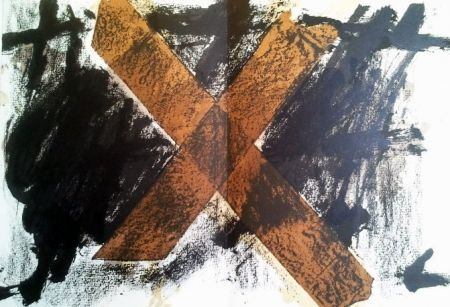 Lithograph Tàpies - DLM 200 LUXE