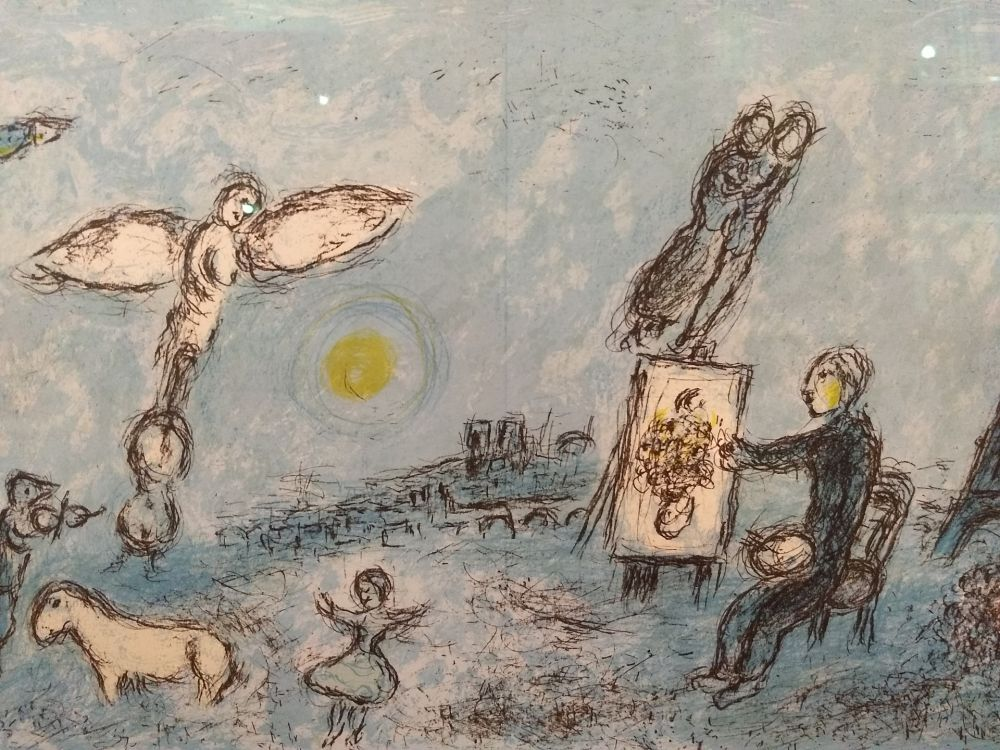 Illustrated Book Chagall - DLM 246