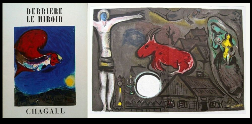 Lithograph Chagall - DLM  27 / 28