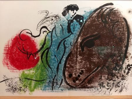 Illustrated Book Chagall - DLM 44 45