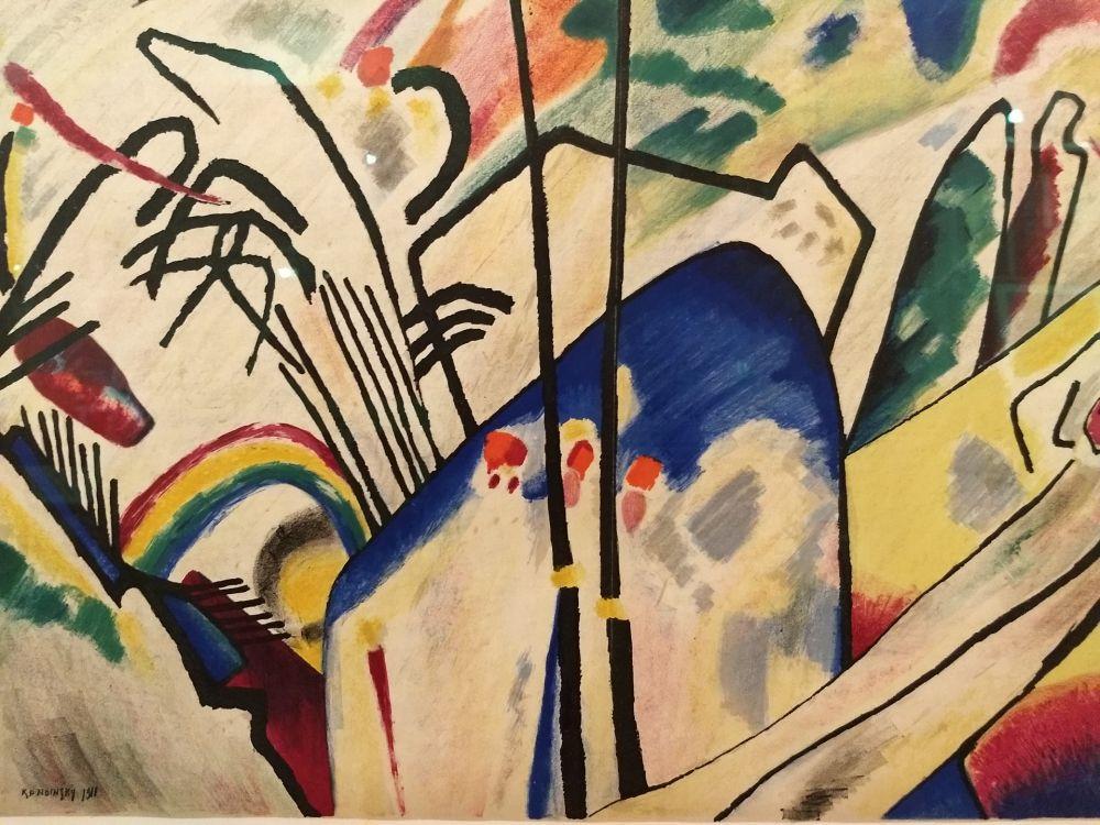 Illustrated Book Kandinsky - DLM 77-78