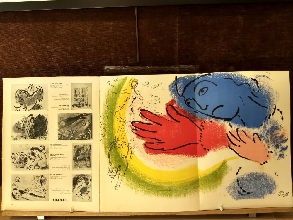 Illustrated Book Chagall - DLM 92 93