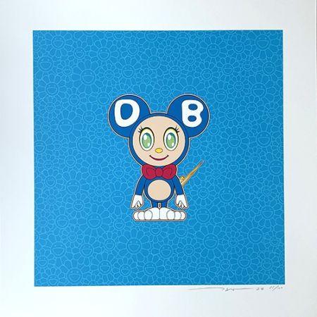Lithograph Murakami - DOB 2020 Light Blue