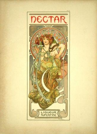 Lithograph Mucha - Document Décoratif  Planche n°14