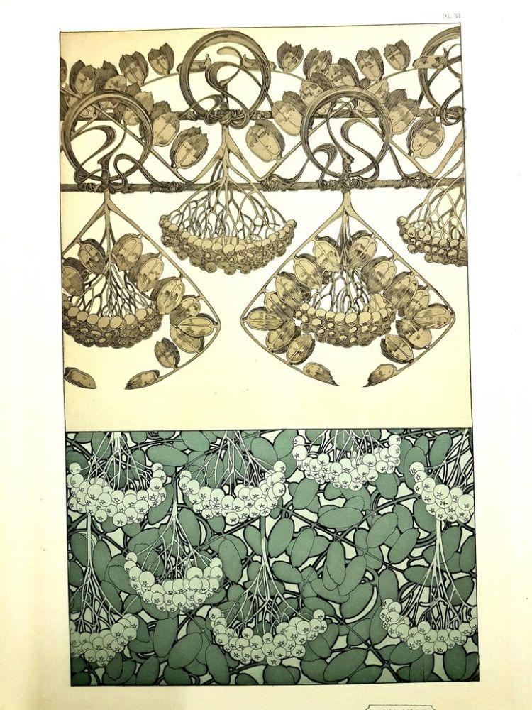 Lithograph Mucha - Documents Décoratifs