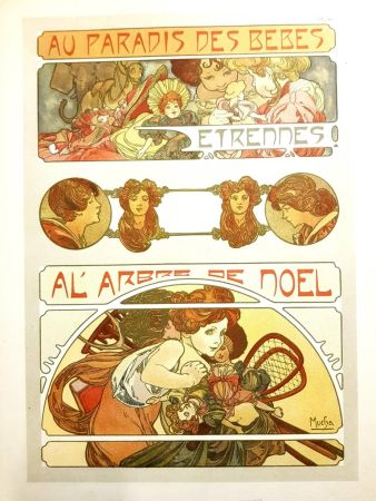 Lithograph Mucha - Documents Décoratifs
