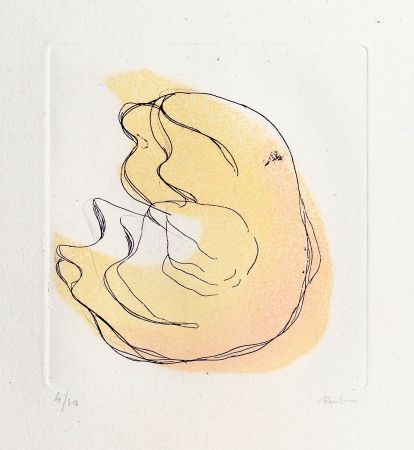 Etching And Aquatint Fautrier - Dodue