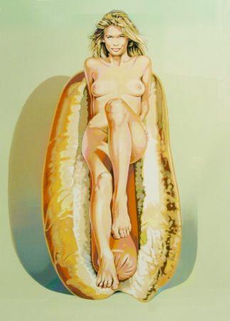 Lithograph Ramos - Doggie Dinah