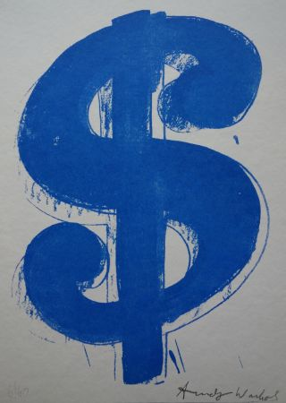 Screenprint Warhol (After) - Dollar Sign