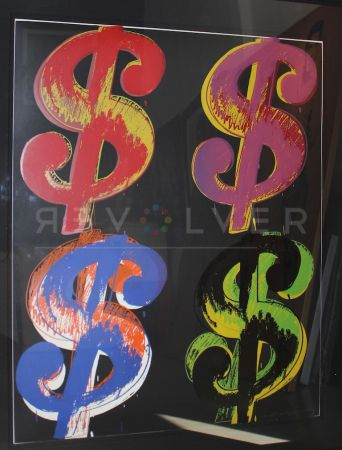 Screenprint Warhol - Dollar Sign, 4 (Fs Ii.282)