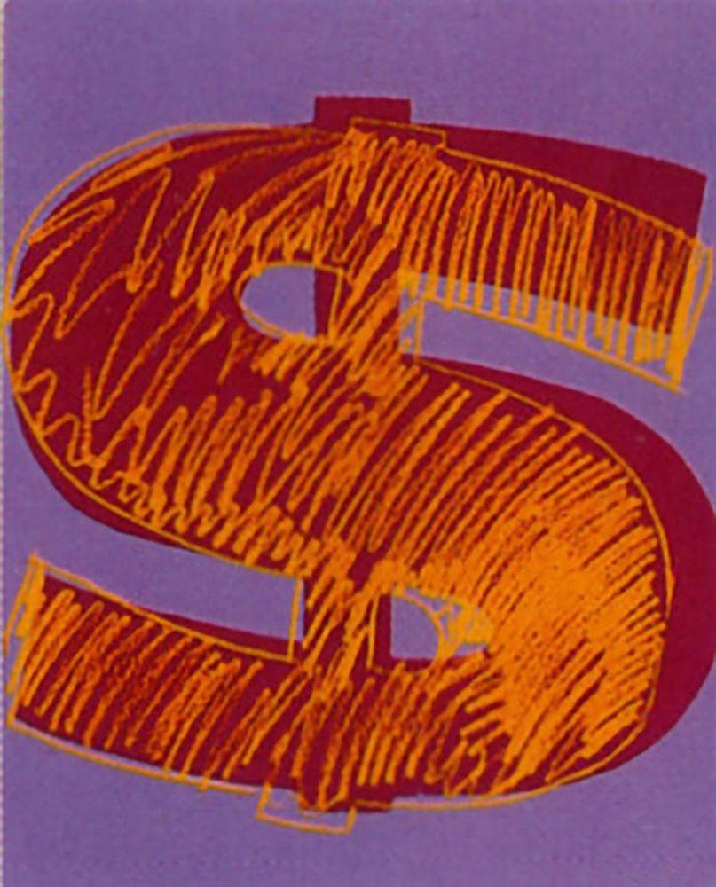 Screenprint Warhol -  Dollar Sign (FS II.280)