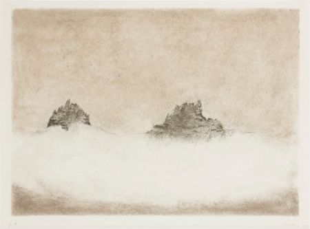 Etching And Aquatint Music - Dolomites
