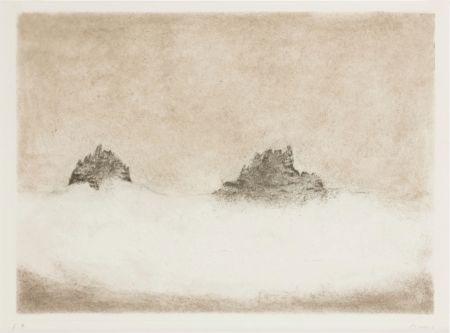 Etching And Aquatint Music - Dolomites