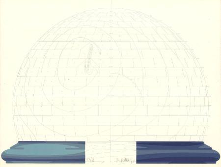 Lithograph Babou - Dome