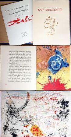 Illustrated Book Dali - DON QUICHOTTE DE LA MANCHE (Cervantès). Ex. avec suite supplémentaire (J. Foret 1957).