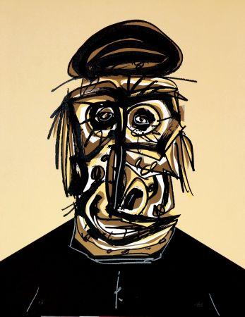Lithograph Saura - Don, Une chaire d'ombre