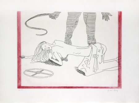 Lithograph Ray - Donna