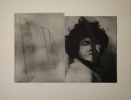 Etching Rainer - Doppelporträt oder Stirnspalt
