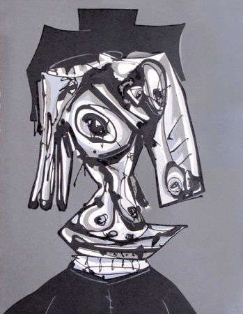 Lithograph Saura - Dora Maar III