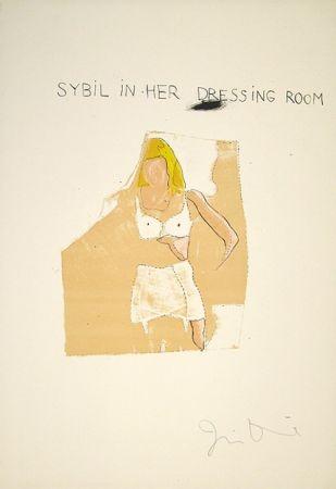 Lithograph Dine - Dorian Gray, Sybil