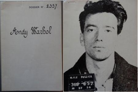 Screenprint Warhol - Dossier No. 2357: The Thirteen Most Wanted Men