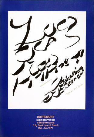 Poster Alechinsky - Dotremont, logogrammes, 1971