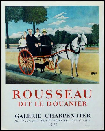 Poster Rousseau - DOUANIER ROUSSEAU GALERIE CHARPENTIER ROUSSEAU DIT LE DOUANIER