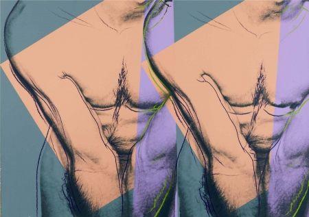 Screenprint Warhol - Double Torso