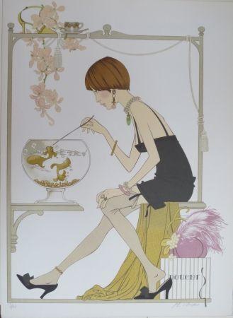 Lithograph Noyer - Doucet