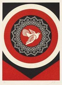 Relief Fairey -  Dove Target Red