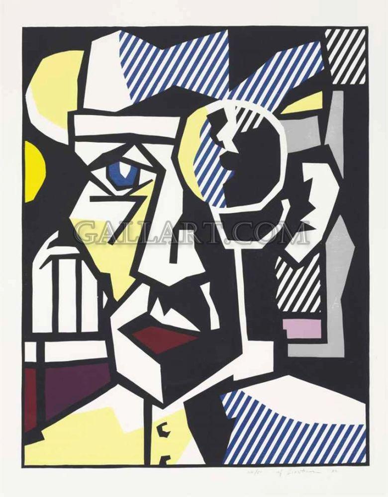 Woodcut Lichtenstein - DR. WALDMANN