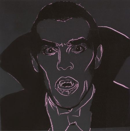 Screenprint Warhol - Dracula