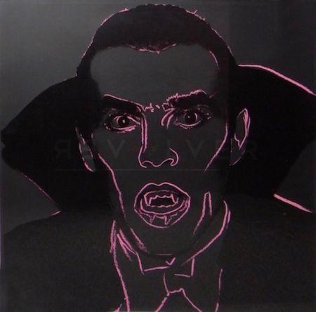 Screenprint Warhol - Dracula (FS II.264)
