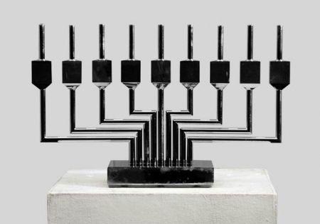 Lithograph Agam - Dradle Chanuka Candlelight, 1979